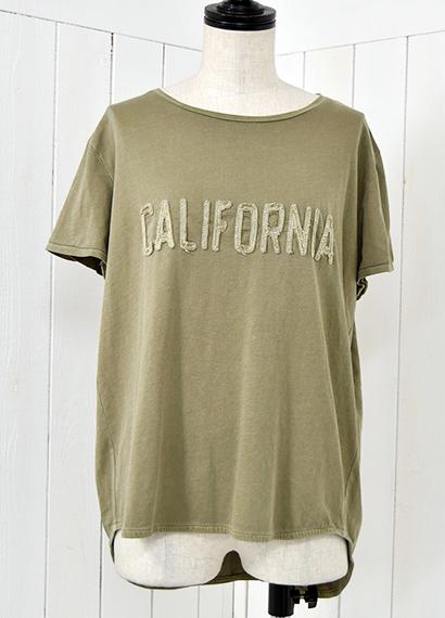 カリフォルニア クルーネックTシャツ